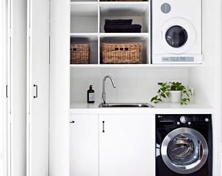 Laundry storage ideas