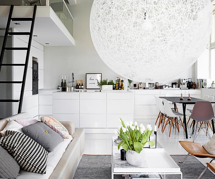 Scandi loft apartment