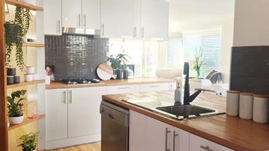 Open-plan kitchen renovation