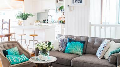 Country meets coastal in this bayside Brisbane home