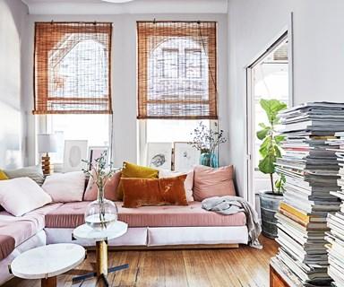 A classic New York loft apartment