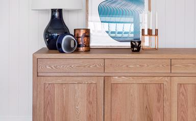 Decorating with timber furniture