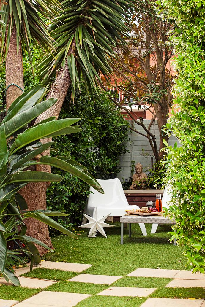 Create zones for both dining and lounging in your garden.
