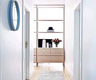 Stylish home entry