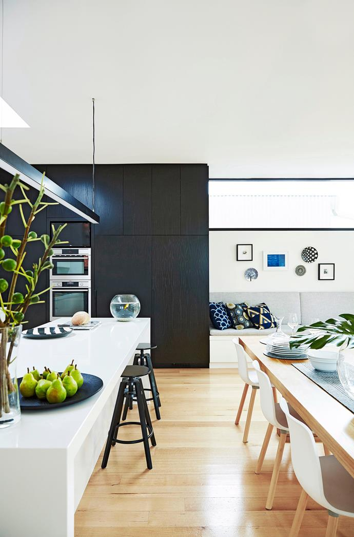 With open-plan kitchen, dining and living spaces becoming increasingly popular, integrating your appliances will ensure your kitchen doesn't overpower your living zone with bulky appliances. *Photo: John Paul Urizar / bauersyndication.com.au*