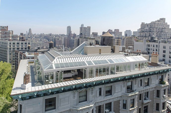 A private developer originally commissioned this penthouse atop a turn-of-the-century building in New York. Photo via [Spivak Architects](http://www.spivakarchitects.com/).