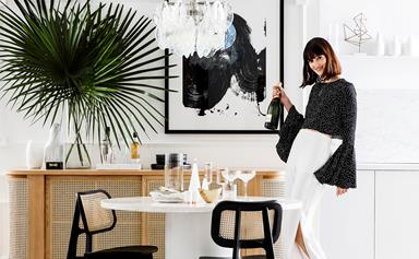 Entertaining style: Laidback luxe