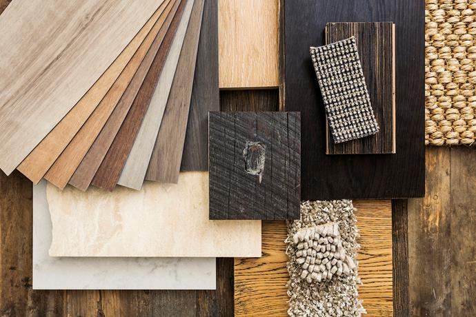 The best way to trial flooring is to take home samples of materials you have set your heart on.
