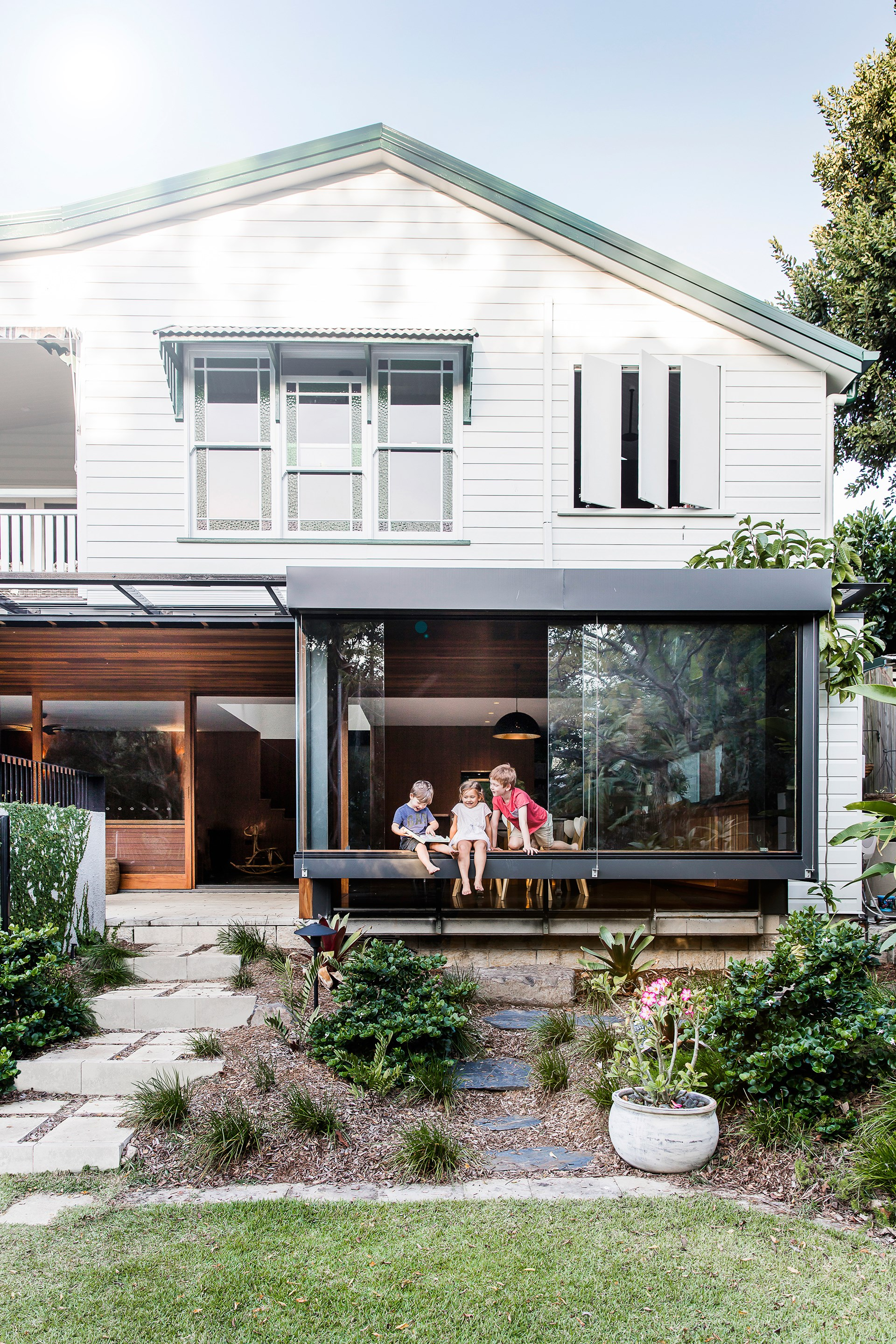 A modern renovation and reconfiguration has quite literally turned this [Brisbane Queenslander](http://www.homestolove.com.au/ground-level-queenslander-extension-4360) on its head, for all the right reasons. Photo: Maree Homer