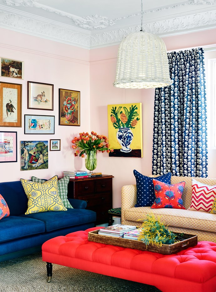"""Assorted fabrics from [Anna Spiro Textiles](http://www.annaspirotextiles.com.au/
