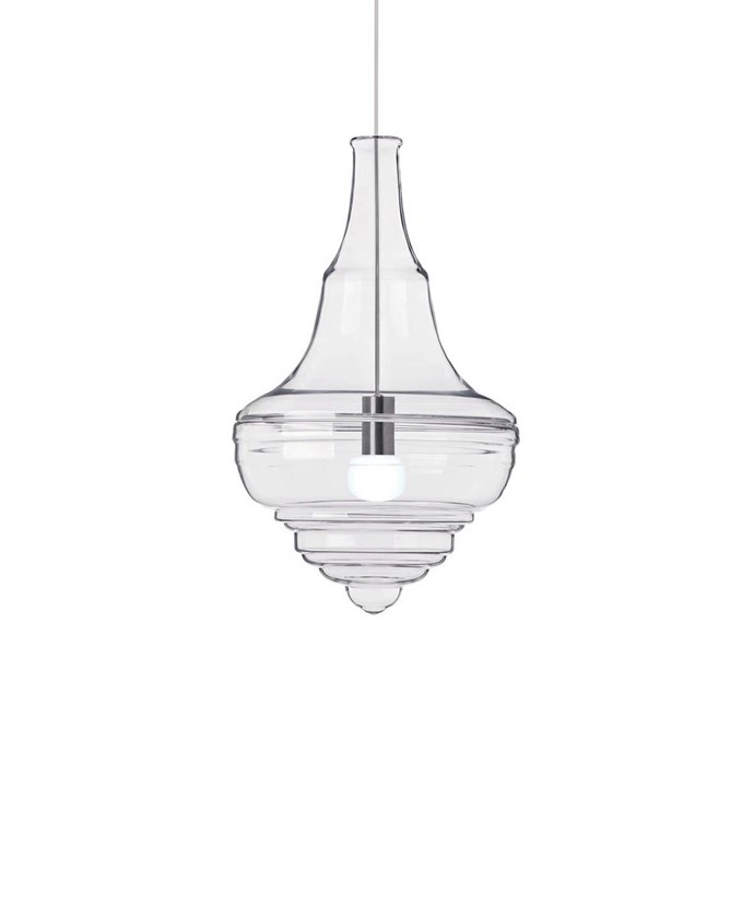Get the look with this [Fosani Lighting replica Prague Theatre glory pendant light](http://www.templeandwebster.com.au/Replica-Blown-Glass-Prague-Theatre-Neverending-Glory-Pendant-Light-FOS-PN7030-FOSL1069.html), $299