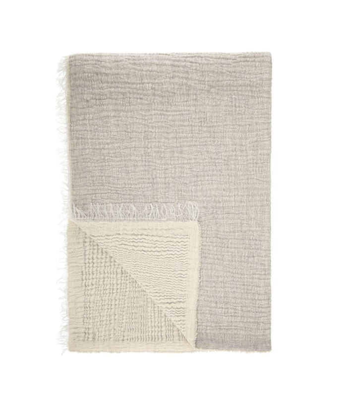 Get the look with this [John Lewis croft cashmere throw](http://www.myer.com.au), $504.95