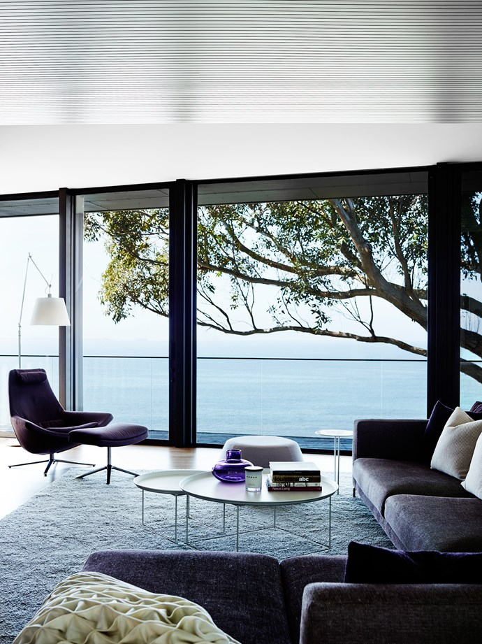 """""""We already had real blues and greens from ocean and vineyard views. Nothing manufactured can compete with that so we chose not to use blue or green in our palette,"""" says Sonia Simpfendorfer of [Nexus Designs](http://nexusdesigns.com.au/)."""