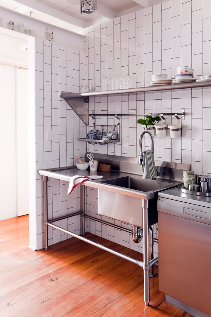 Industrial fixtures and fittings are widely accepted in homes throughout NYC as the busy citizens have very little time for maintenance. *Photo: Maree Homer / bauersyndication.com.au*