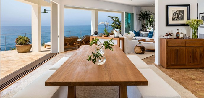 "The living, dining and kitchen areas flow onto the generous balcony for seamless indoor/outdoor living. Photo: [Chris Cortazzo Malibu Real Estate](http://www.chriscortazzo.com/|target=""_blank""