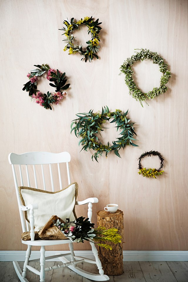 Australian native flowers - with their vibrant colours and long-lasting foliage - make the perfect Christmas decorations. *Photo: James Henry / bauersyndication.com.au*