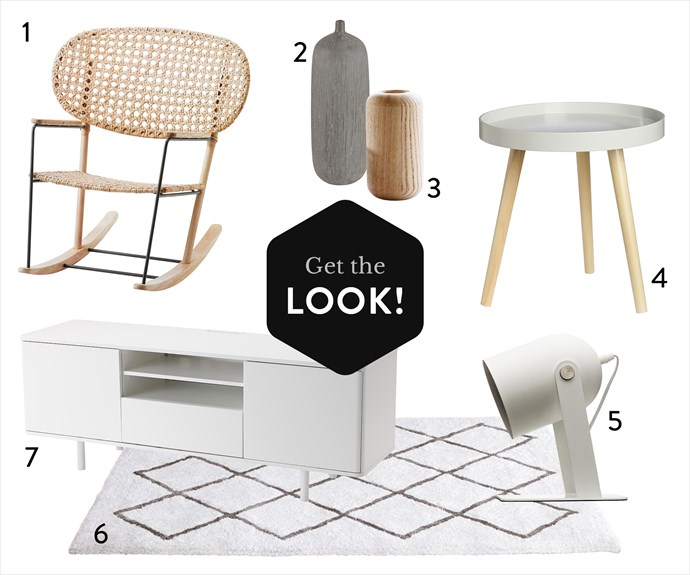 "**1.** Grönadal rocking chair in Grey/Natural, $199, from [Ikea](http://www.ikea.com/|target=""_blank""