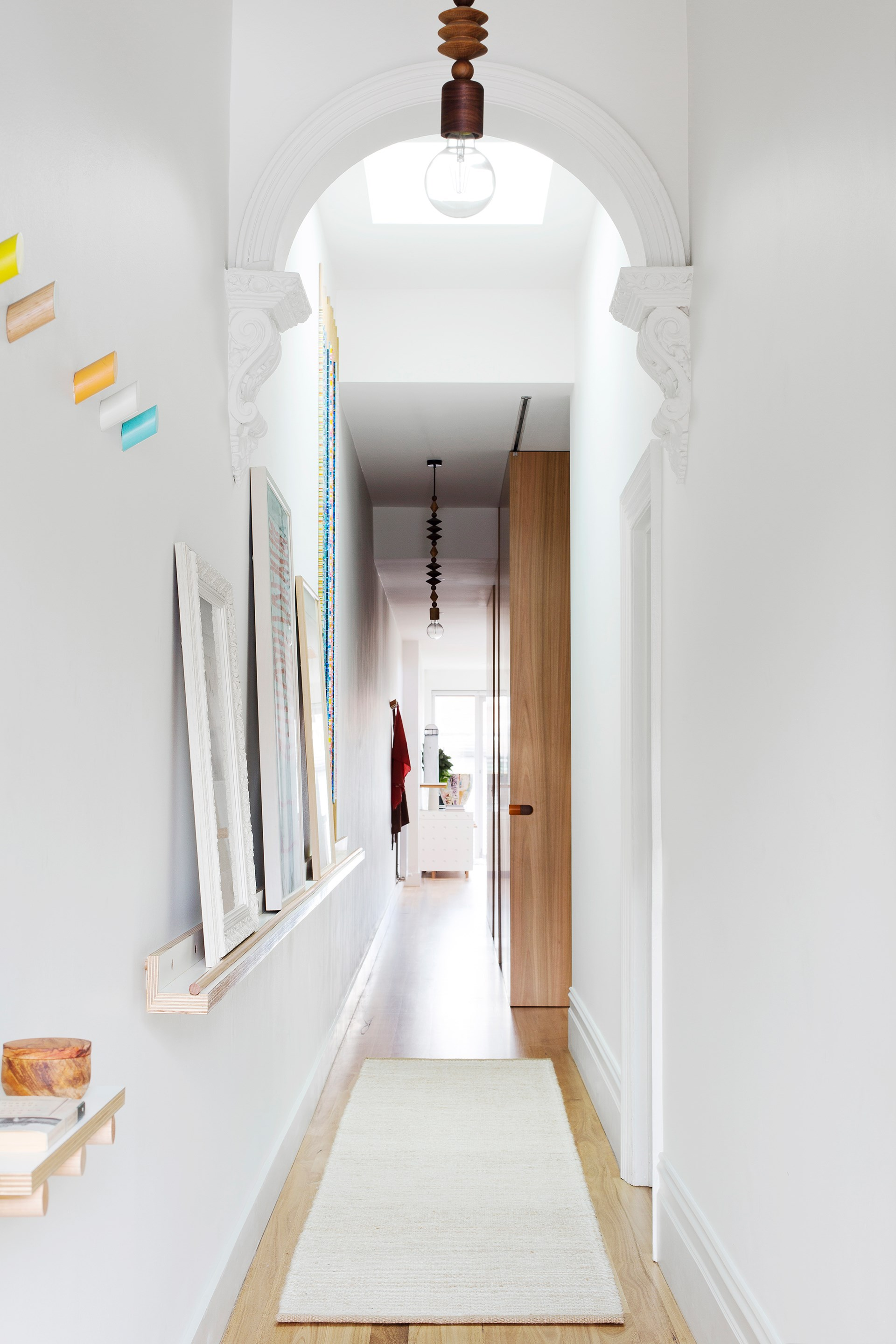 Only cosmetic changes have been made in the bespoke renovation of this [single-fronted Victorian terrace](http://www.homestolove.com.au/bespoke-renovation-of-an-old-victorian-terrace-4456) that has been inspired by the owners love of art. Photo: Martina Gemmola / Australian House & Garden