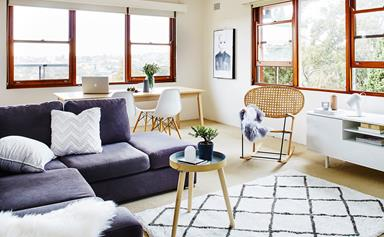 Stylist house call: living room makeover