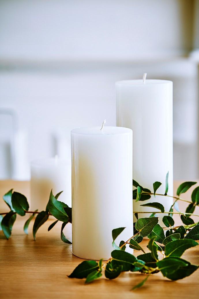 "Blaze **candles**, from $1.95, [Freedom](https://www.freedom.com.au/|target=""_blank""|rel=""nofollow"")."