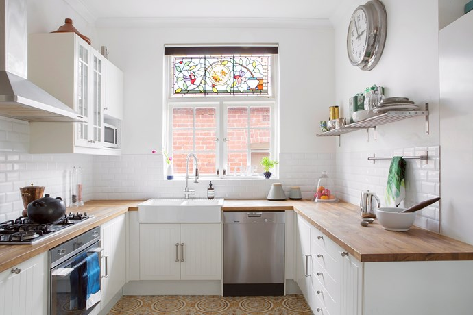 Timber has natural anti-bacterial properties making it an excellent choice for kitchen benchtops. Photo: Angelita Bonetti / bauersyndication.com.au
