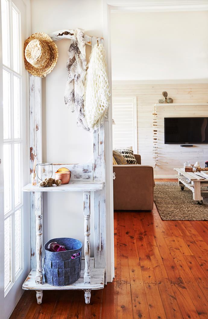 """""""We wanted to let more light in to the [entrance area](http://www.homestolove.com.au/first-impressions-james-trebles-tips-on-styling-the-entrance-to-your-home-3265