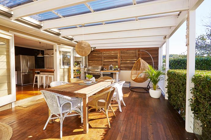"""The large, covered [back deck](http://www.homestolove.com.au/decked-out-2458