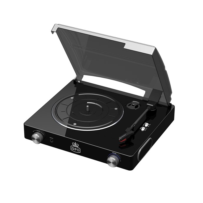 UK Stylo Turntable Vinyl Record Player, $99.95, [Zanui](http://fave.co/2iD8dti).