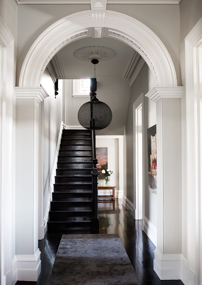The clients had lived in period properties before and, although sensitive restoration was paramount, they wanted to avoid an obvious interior treatment. With a love of travel, fashion and art, they opted for a cosmopolitan and slightly formal New York aesthetic in the home.