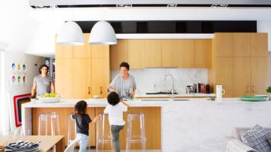 New study reveals the benefits of open plan living for families