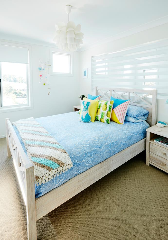 """The bedlinen in the guest room is from [Pillow Talk](http://www.pillowtalk.com.au/