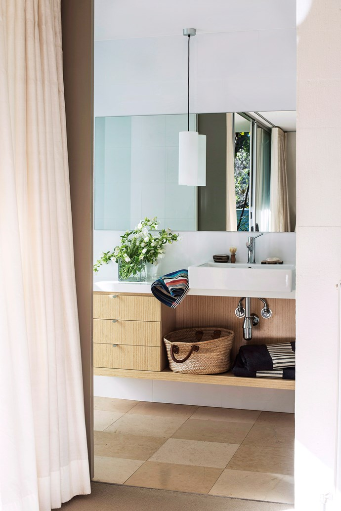 Freshen up a bathroom for visitors with a vase of sweet-smelling blooms. Photo: bauersyndication.com.au