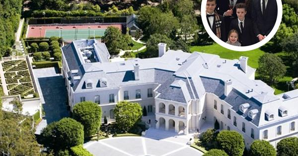 David Amp Victoria Beckham Express Interest In La Mansion