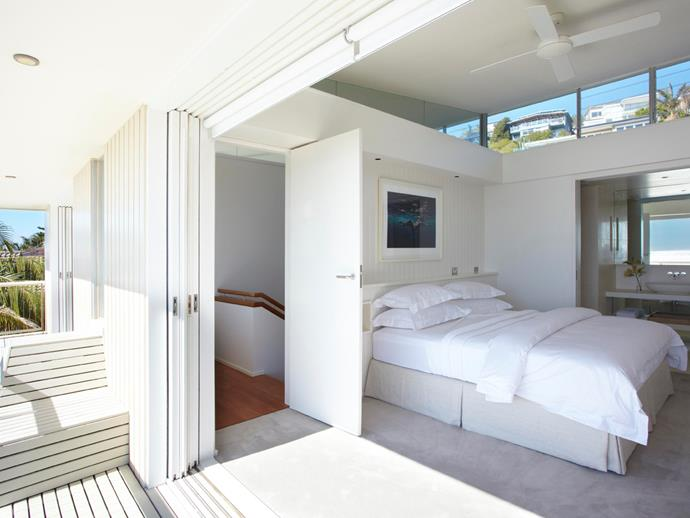 One of the four hotel-inspired king-sized bedrooms. Photo: [Unique Estates](http://uniqueestates.com.au/listings/holiday_rental-298732-palm-beach/).