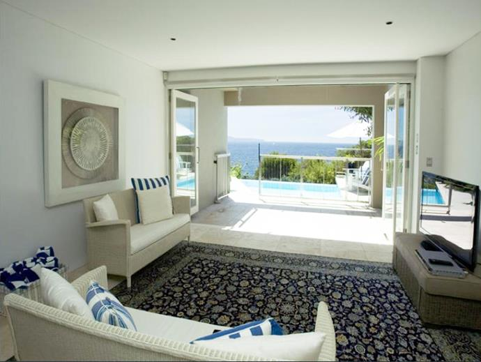 The two media rooms are decked out with the latest technology and also enjoy the magnificent view. Photo: [Realestate.com.au](https://www.realestate.com.au/sold/property-house-nsw-palm+beach-106332574).