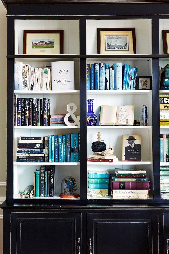 "The way you stack and display your [books](http://www.homestolove.com.au/how-to-care-for-your-books-1726|target=""_blank"") is an opportunity to create some interest in your room. Photo: John Paul Urizar"