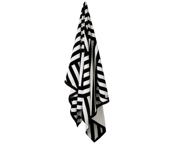 Montego cotton beach towel, $65, [Country Road](https://www.countryroad.com.au/).