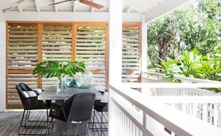 wide verandah