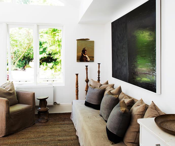earthy glamorous home