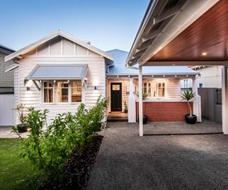 Perth cottage renovation