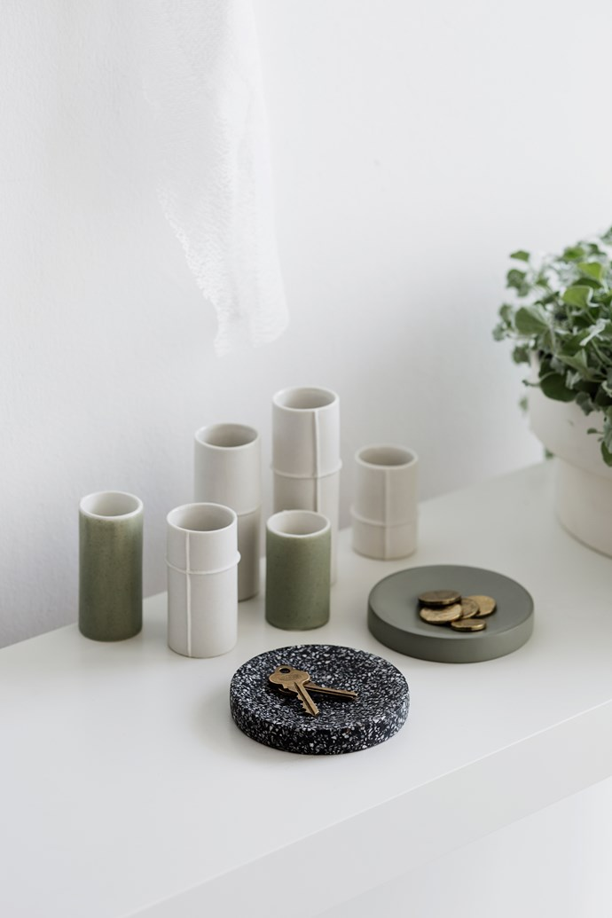 The new bud vases come in Raw, Grey and Sage - mix and match to create simplistic yet stunning botanical display.