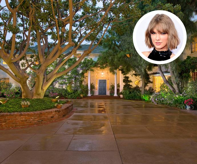 Taylor Swift Hollywood mansion