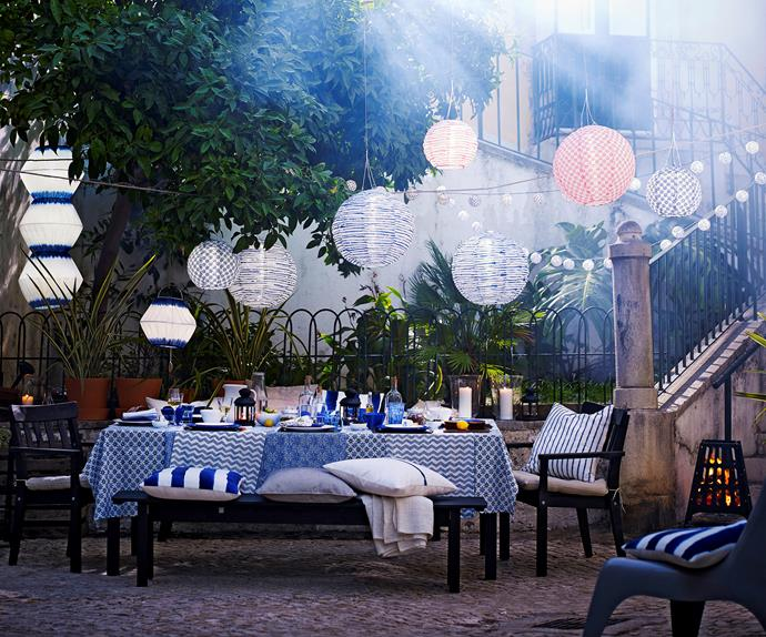 Ikea outdoor entertaining