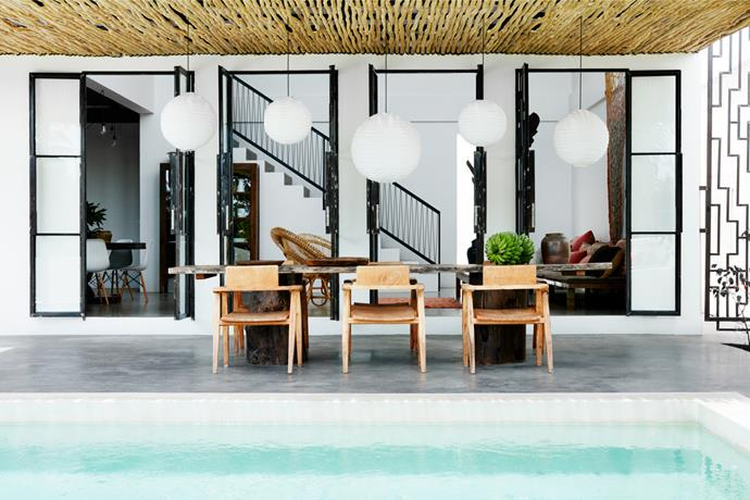 [Bali home by Birgitte Raben and Lisa Taffin](http://www.homestolove.com.au/a-designer-holiday-home-in-bali-4441). Photograph by Prue Ruscoe. From *Belle* November 2016.