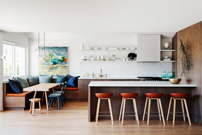 [Sydney home by Justine Hugh-Jones Design](http://www.homestolove.com.au/gallery-a-beach-house-with-big-city-sophistication-1437). Photograph by Nicholas Watt. From *Belle* April 2015.