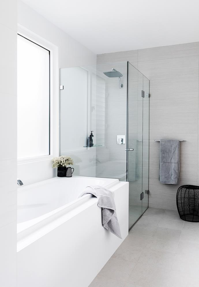 Streamlined simplicity is the order of the day in the [guest bathroom](http://www.homestolove.com.au/expert-advice-guest-bathrooms-4536).