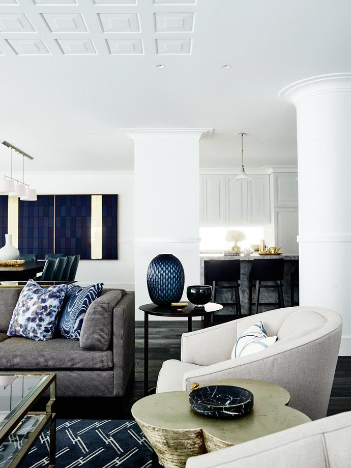 """""""While the clients liked pattern and were keen for texture and layers the scheme also had to be understated,"""" Greg says."""