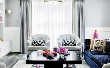 Art Deco home sings the blues