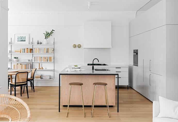 """I adore how seamlessly this space integrates with the living and dining areas. It's an extension of both but remains functional and practical,"" says Juliette."