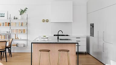 Contemporary open-plan kitchen design